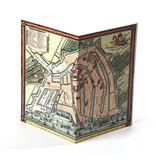 Double carte, Carte historique Amsterdam 1585