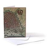 Dubbele kaart, Historische kaart Amsterdam 1615