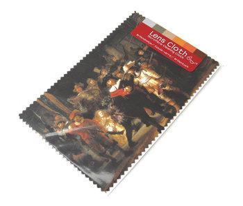 Tissu pour lentilles, 10 x 15 cm, La Veille de nuit, Rembrandt