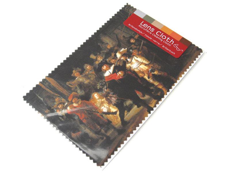 Linsentuch, 10 x 15 cm, Die Nachtwache, Rembrandt