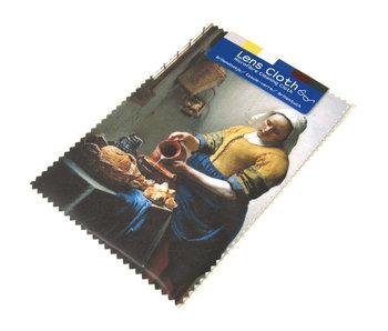 Tissu pour lentilles, 10 x 15 cm, La laitière
