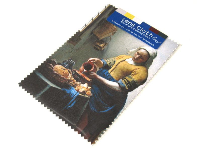 Brillendoekje, 10 x 15 cm,  Het melkmeisje