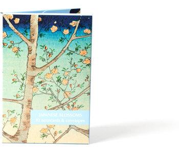 Kaartenmapje,  Japanse bloesems,Fitzwilliam