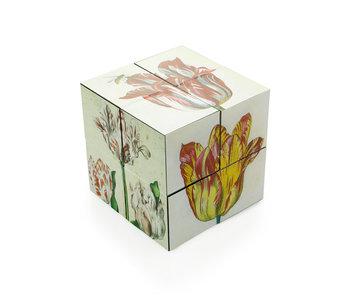 Cube magique, cube d'art des tulipes hollandaises, Marrel