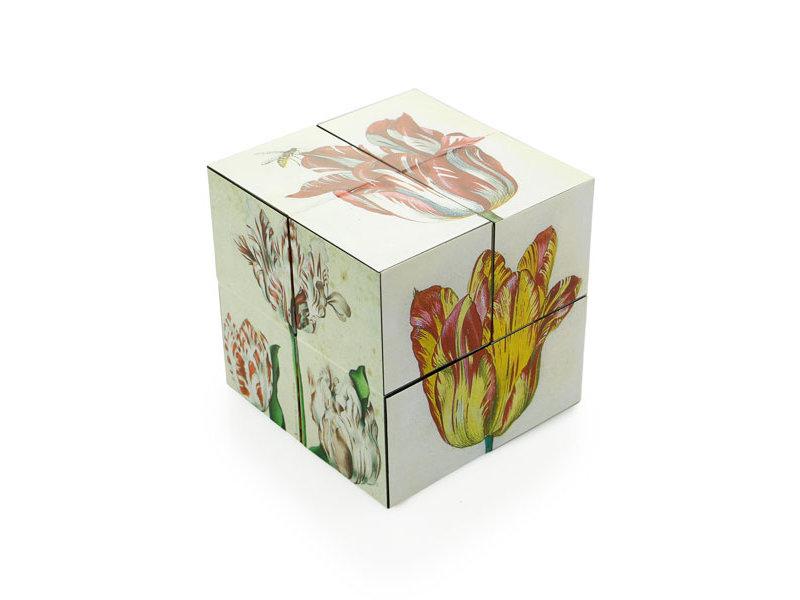 Magischer Würfel, holländischer Tulpen-Kunstwürfel