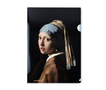 L-Ordner A4-Format, Mädchen mit einem Perlenohrring, Vermeer