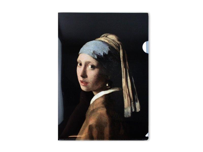 Filesheet, A4, Meisje met de parel, Vermeer