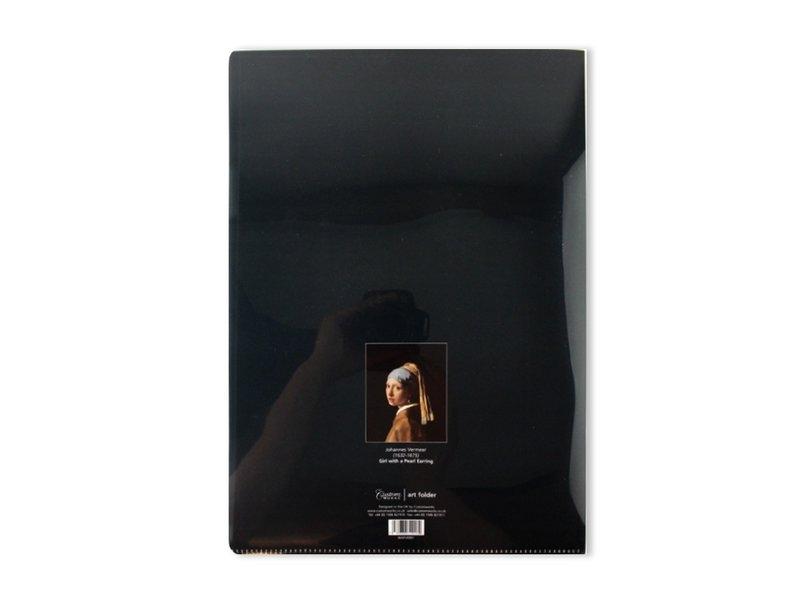 Porte-documents format A4, Fille avec une boucle d'oreille perle, Vermeer