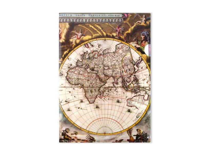 Filesheet A4, World Map