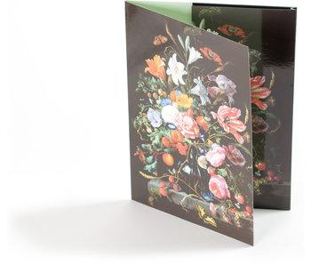 File Folder , De Heem, Vase with Flowers