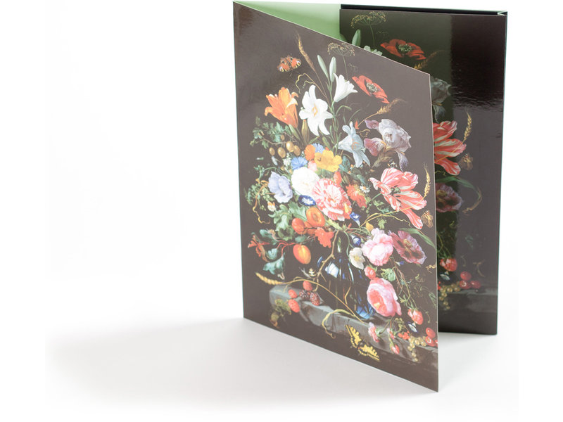 File Folder W, De Heem, Vase with Flowers