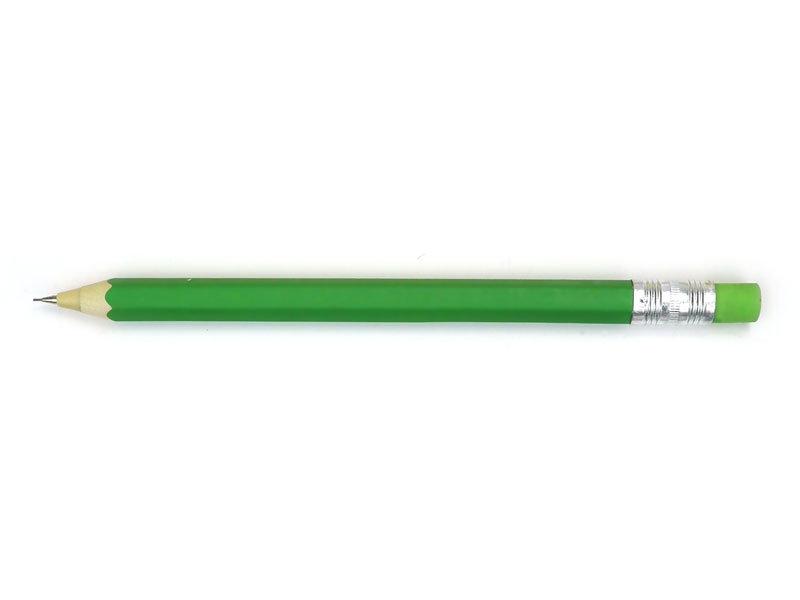 Houten vulpotlood, Groen