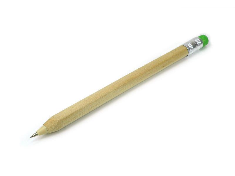Crayon mécanique en bois, couleur bois