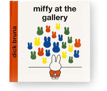 Boek, Miffy at the Gallery (ENG)