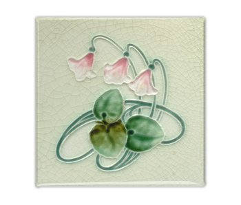Fridge Magnet, Jugendstill Tile, Three Bells