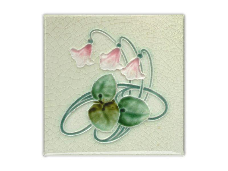 Fridge Magnet, Jugendstill Tile, Three Bells