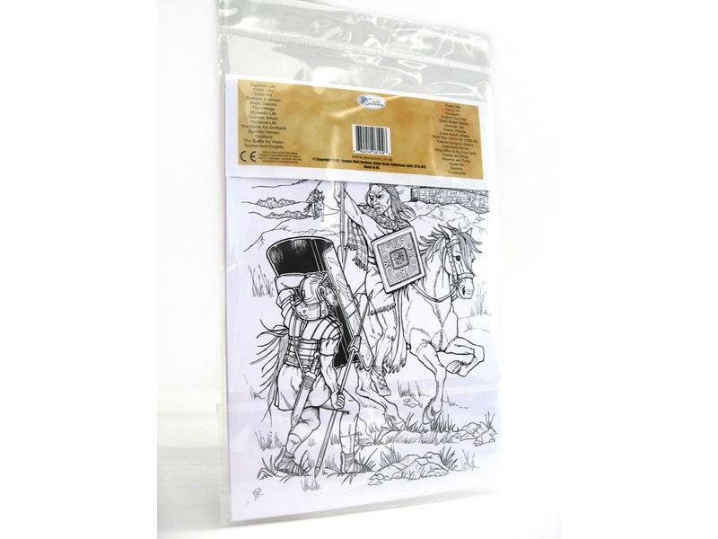 ToFärbende Postkarte, Römer