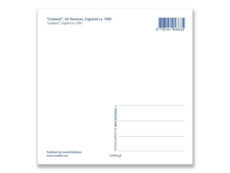 Postal, Art Nouveau, Guimard
