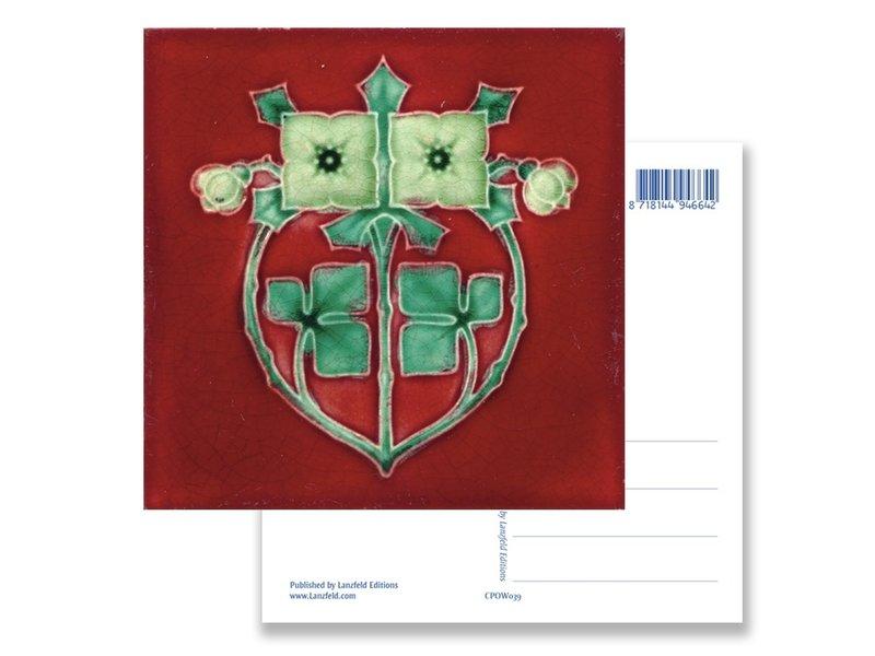 Postkarte, Jugendstil, Klee 1900