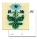 Postkarte, Jugendstil, Kornblume