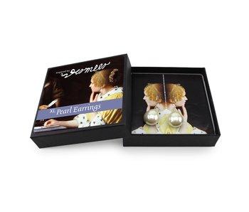 Pearl Earrings Set, Vermeer XL Silver Hangers