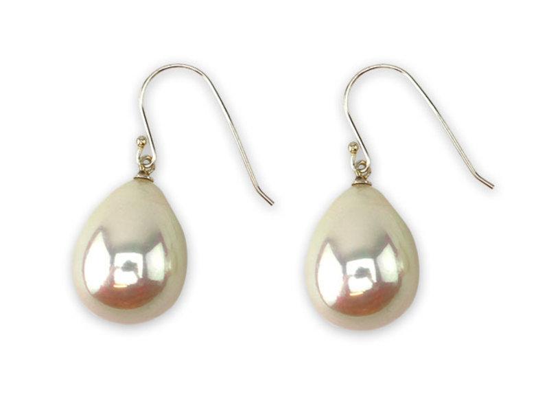 Perlenohrringe Silber XL, Vermeer, Herrin