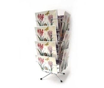 Counter display for cards, 14 compartments