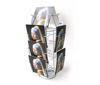 Mostrador para tarjetas, 12 compartimentos