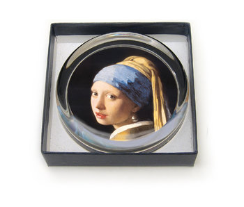 Paperweight, Ø55 mm, Girl with a Pearl Earring, Vermeer