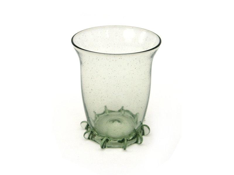 Verre nuptiale, 8 cm, vert