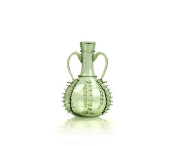 Wedding Decanter, small 15 cm, green