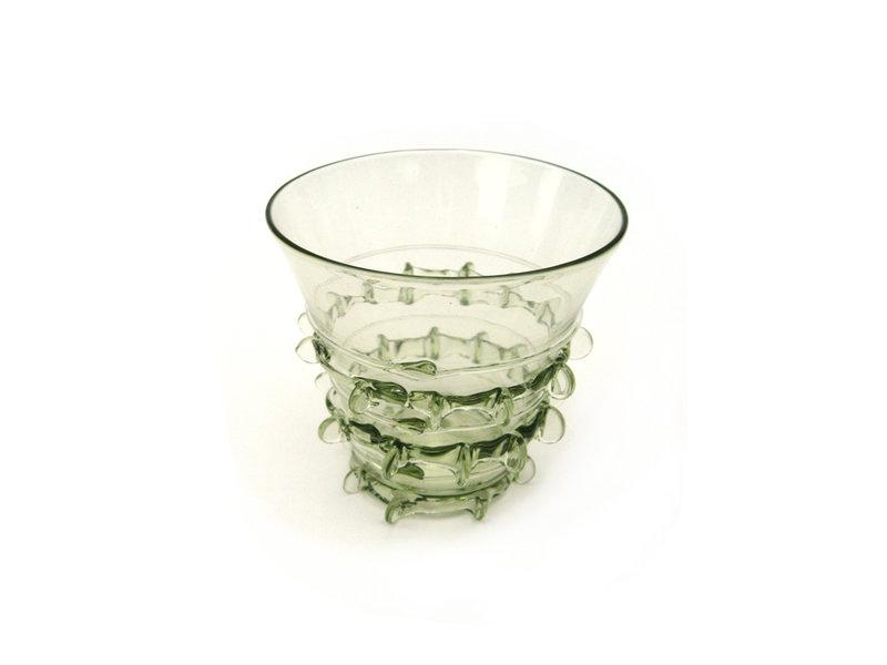 Verre historique, Berkemeier, 7 cm, vert