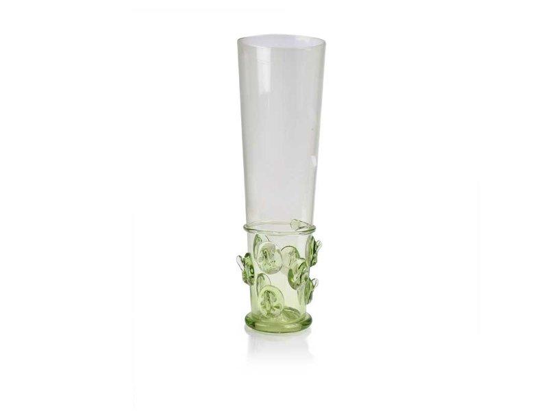 Bierglas, stekelknop 20 cm, groen
