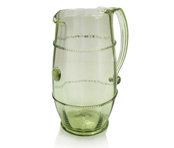 Wasserkaraffe, groß 19 cm, grün