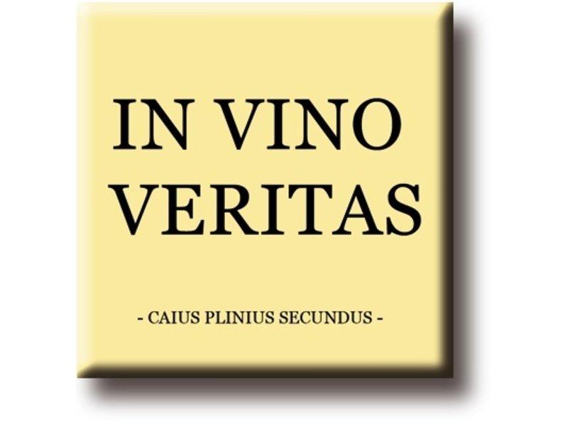 Aimant de réfrigérateur, Pliny Secundus, In Vino Veritas