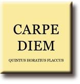 Fridge magnet, Quintus Horatius Flaccus, Carpe Diem