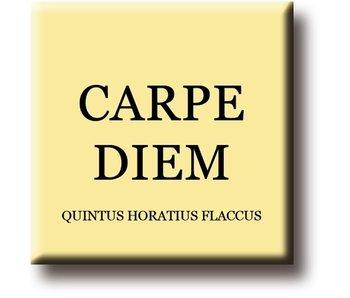 Imán de nevera, Quintus Horatius Flaccus, Carpe Diem