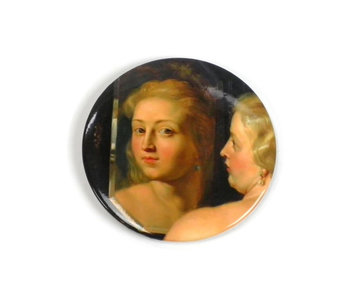 Pocket Mirror Large, Ø 80 mm Venus in Front of the Mirror, Rubens