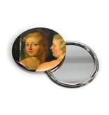 Spiegeltje, groot, Ø 80 mm Venus voor de spiegel, Rubens