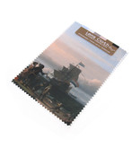 Lens cloth, 10 x 15 cm, Dutch ships on the roadstead of Texel