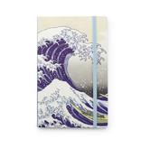 Cuaderno de tapa blanda, La gran ola de Kanagawa, Hokusai