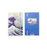 Softcover-Notizbuch, Die große Welle vor Kanagawa, Hokusai