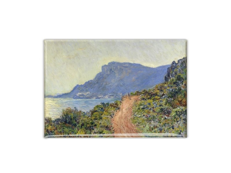 Imán de nevera, La Corniche cerca de Mónaco, Monet