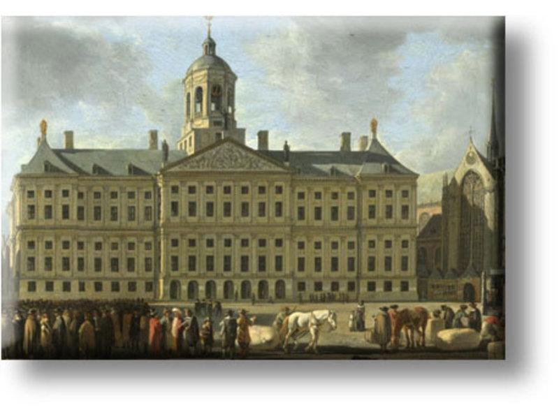 Koelkastmagneet, Het stadhuis op de Dam, Berckheyde