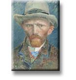 Fridge Magnet, Self Portrait, Van Gogh