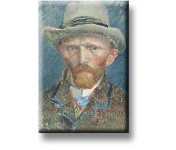 Aimant pour réfrigérateur, Autoportrait, Van Gogh
