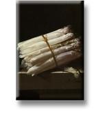Koelkastmagneet, Stilleven met asperges, Coorte