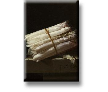Fridge Magnet, Still Life with Asparagus, Coorte