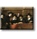 Fridge Magnet, The Masters of Steel, Rembrandt
