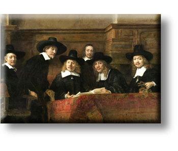 Kühlschrankmagnet, Die Meister des Stahls, Rembrandt